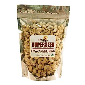 Organic Raw Cashew