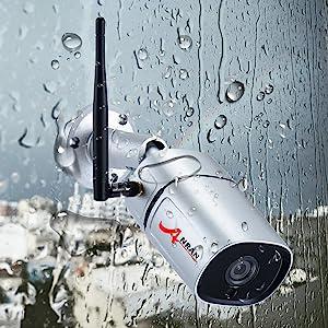 wifi security camera system weatherproof