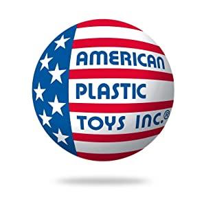 American Plastic Toys Inc. Company Logo USA Flag