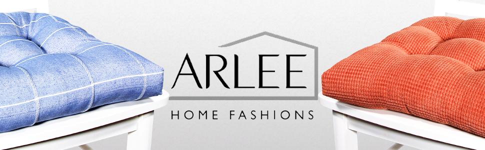 Arlee, chair pads, chair cushions, seat covers, memory foam, microfiber, home decor