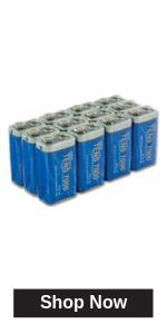9v heavy duty batteries