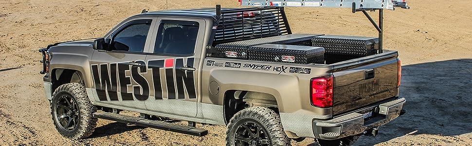 Westin Tan Truck in Desert