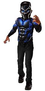 battle shirt black panther boys