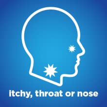 itchy throat or nose