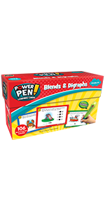power pen learning cards Blends & Digraphs