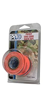 Pro Pocket Cool Camo 48mmx5.4M FL Orange