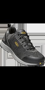 KEEN Utility Women's Sparta low alloy aluminum toe safety footwear ESD sneaker work shoe