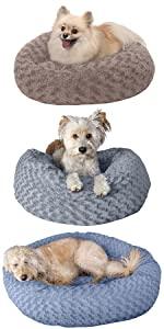 furhaven; product; comparison; pet; bed; deep dish; donut; ball; bean bag