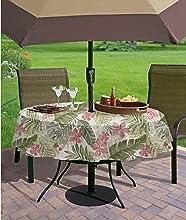 bbq barbecue umbrella tablecloth