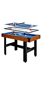 Triad multi-game table