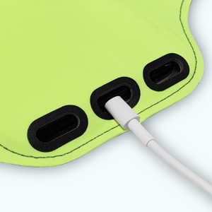 Headphones & Charger Cutouts