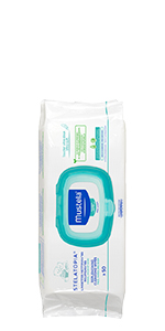 Stelatopia wipes for your baby's eczema-prone face, body and diaper area. Soft and fragrance-free