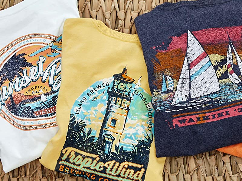 IZOD, Casual, Saltwater Graphic Tee
