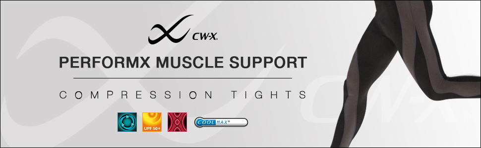 men's performx insulator muscle support compression tights