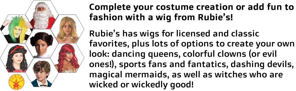 rubies wigs