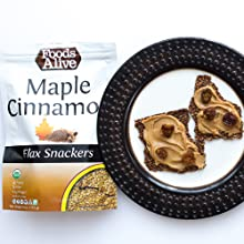 Enjoy these organic, gluten free crackers straight from the bag or with guac, salsa or nut butters