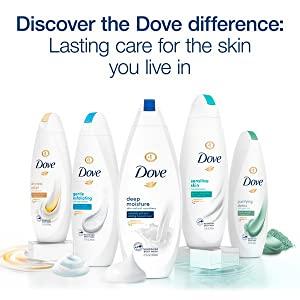 Dove Product Range