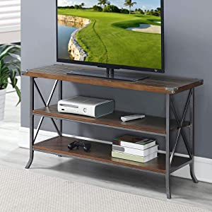 tv stand industrial traditional modern living family room
