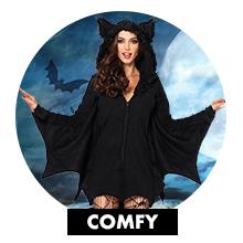 comfy cozy warm fleece costumes
