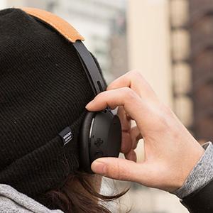 hipster comfortable bluetooth wireless bass hear the beat music