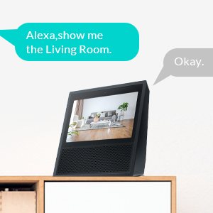 Compatible with Alexa