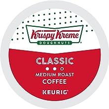krispy kreme smooth kcups, k-cup pods, k cup pods, coffee pods, keurig coffee, kuerig