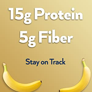 protein banana fiber diet low carb