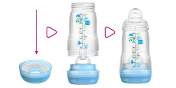 anti-colic, cleaning, baby bottle, self-sterilizing, colicky babies, MAM