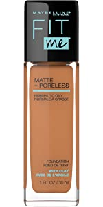 matte finish foundation for oily skin