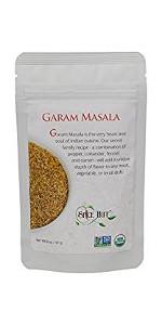 garam masala the spice hut salt free spice blend pouch