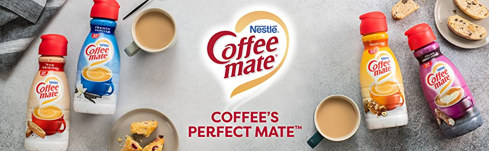 Coffee Mate is Coffee's Perfect Mate