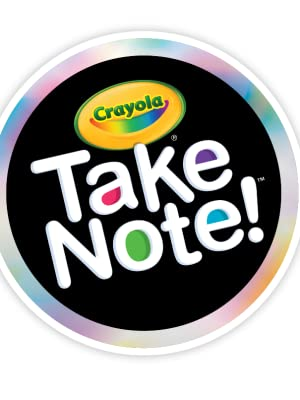 take note, crayola, writing supplies, school supplies, teacher supplies, office supplies, notes