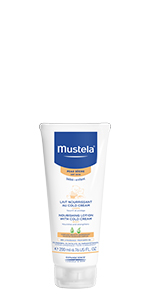 Bottle of Nourishing Lotion to help nourish and protect dry skin with long-lasting moisture