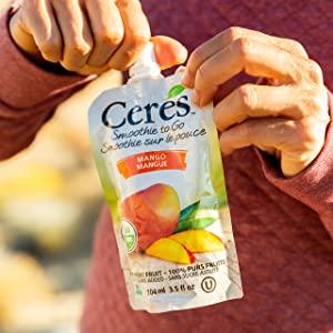 Ceres Organic Mango Smoothie Vegan Healthy