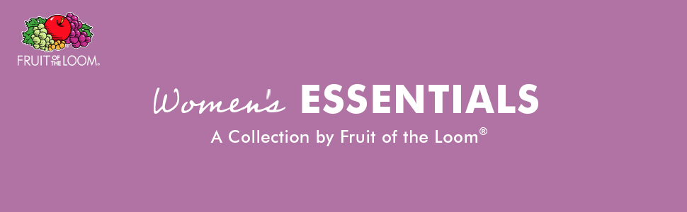 essentials, fruit of the loom