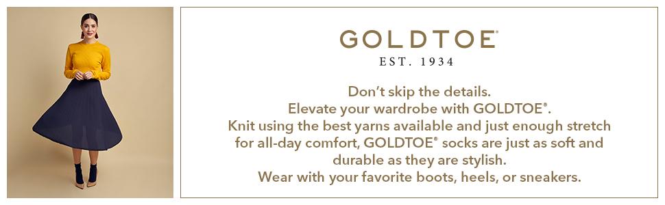 GOLDTOE Women socks; fashion socks