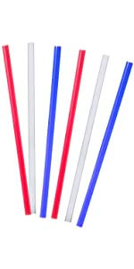 Tervis 10 Inch Traditional Color Straight Straws