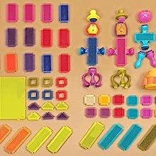 B. toys Bristle Blocks stem building educational learning development for kids toddler girl boy gift