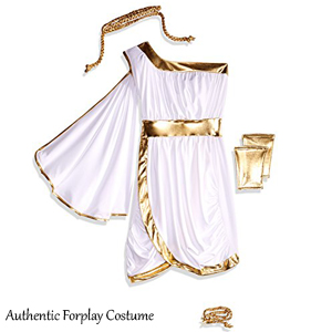 Our toga costume is meticulously crafted from 95% Polyester and 5% Spandex material