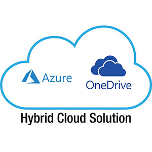 Hybrid Cloud, Azure, OneDrive