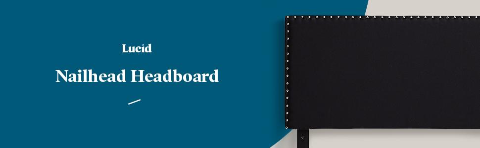 Lucid Nailhead Headboard