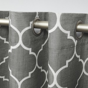 grommet curtains, rod pocket curtain, roman shades, blinds, modern curtains, window drapes