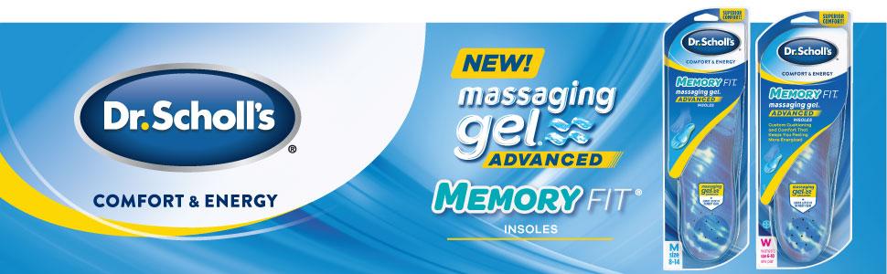 Dr. Scholl's Massaging Gel Advanced Memory Fit Insoles