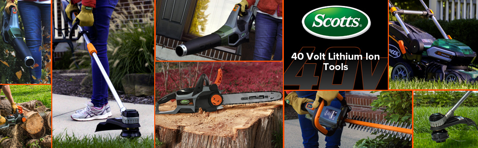 maintain mow trim cut chop lawn garden house home easy clean lithium ion powerful leaves yard debris