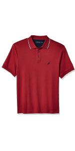 nautica mens apparel short sleeve polo