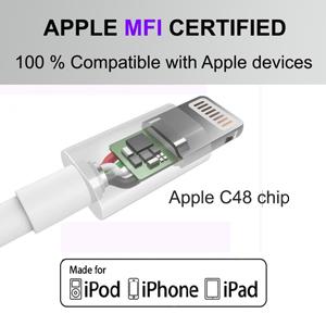 apple mfi ligtning cabe, apple certificed, apple C48 chip