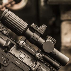 Trijicon RMR Type 2 Adjustable LED Optic Mounted Reflex Sight