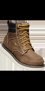 mens cincinnati soft toe safety waterproof work boot