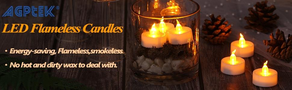 LED Flameless Candles