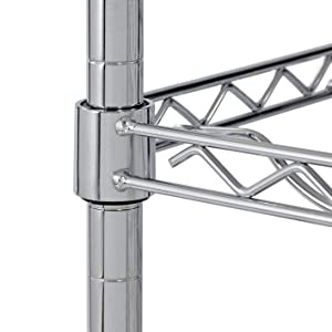 Adjustable shelves, wire rack, metal shelving, garage storage, closet organizer, kitchen shelving